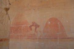 Pared antigua del templo imágenes de archivo libres de regalías