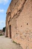Pared antigua en la colina de Palatine Fotografía de archivo libre de regalías