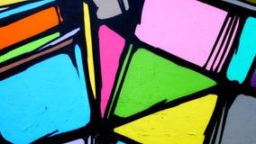 Pared Art Graffiti en Los Ángeles - clip 1 almacen de video