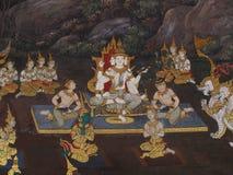 Pared Art Thailand Culture Imágenes de archivo libres de regalías