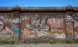Pared, arte de la calle Foto de archivo libre de regalías