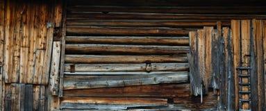 Pared austríaca tradicional de la granja imagen de archivo libre de regalías