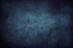 Pared azul Foto de archivo libre de regalías