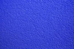 Pared azul Fotos de archivo libres de regalías