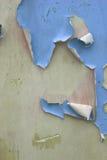 Pared azul Imagen de archivo libre de regalías