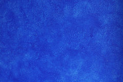 Pared azul de la textura Foto de archivo libre de regalías