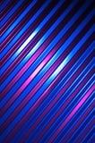 Pared azul, púrpura, y negra del metal Fotografía de archivo libre de regalías
