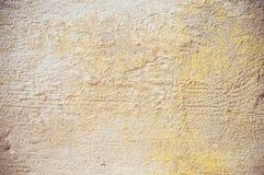 Pared beige del estuco Imagenes de archivo