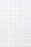 Pared blanca del azulejo Foto de archivo libre de regalías