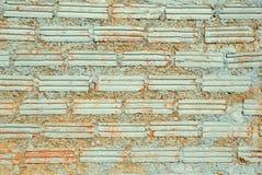 pared Blanco-rosada de los ladrillos para el fondo Fotos de archivo libres de regalías