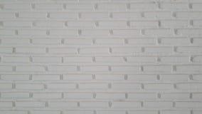 Pared bricked blanco Fotos de archivo