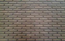 Pared bricked gris oscuro Fotos de archivo