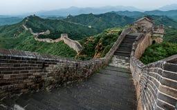 Pared china Fotografía de archivo libre de regalías