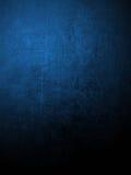 Pared coloreada azul del yeso Fotos de archivo libres de regalías