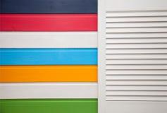 Pared colorida Imagen de archivo libre de regalías