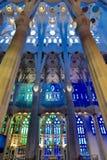 Pared colorida de la iglesia Foto de archivo libre de regalías