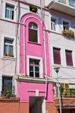 Pared colorida en país mediterráneo Foto de archivo libre de regalías