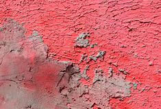 Pared con la pintura rosada del modelo de la pintura Imagenes de archivo