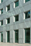 Pared contemporánea del edificio Fotos de archivo libres de regalías