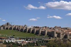 Pared de Ávila Imagenes de archivo