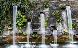 Pared de agua Foto de archivo libre de regalías