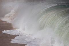 Pared de agua grande fotografía de archivo libre de regalías