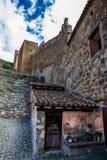Pared de Albarracin, España Fotografía de archivo