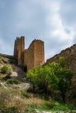Pared de Albarracin, España Imágenes de archivo libres de regalías
