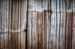 Pared de bambú Imágenes de archivo libres de regalías