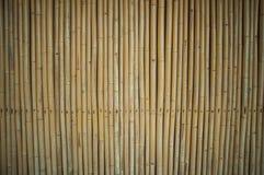 Pared de bambú para el fondo Fotos de archivo libres de regalías