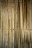 Pared de bambú para el fondo Foto de archivo