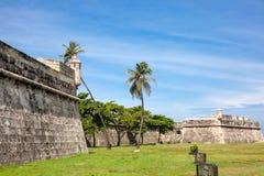 Pared de Cartagena de Indias Imagenes de archivo