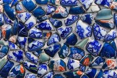 Pared de cerámica Imágenes de archivo libres de regalías