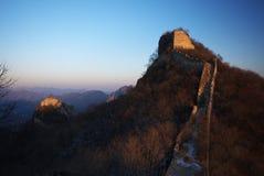 Pared de China Foto de archivo libre de regalías