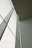 Pared de cortina de cristal Imagen de archivo libre de regalías