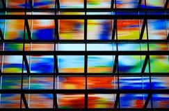 Pared de cristal foto de archivo