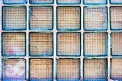 Pared de cristal Foto de archivo libre de regalías
