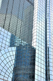 Pared de cristal de edificios modernos Fotografía de archivo