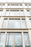 Pared de cristal del edificio de oficinas Foto de archivo
