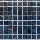 Pared de cristal del mosaico en el cuarto de baño Imagen de archivo libre de regalías