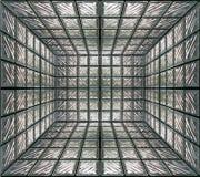 Pared de cristal del sitio Imagen de archivo libre de regalías