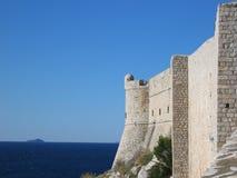 Pared de Dubrovnik Fotos de archivo libres de regalías