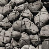 Pared de Gabion (primer) Imagen de archivo libre de regalías