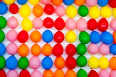 Pared de globos Foto de archivo libre de regalías