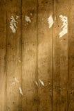 Pared de Grunge con el cartel rasgado Fotos de archivo