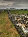 Pared de Hadrians Imagen de archivo