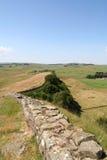 Pared de Hadrians, Foto de archivo libre de regalías