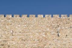Pared de Jerusalén Foto de archivo