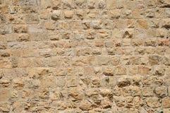 Pared de Jerusalén. Imagen de archivo libre de regalías