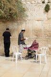 Pared de Jerusalén Foto de archivo libre de regalías